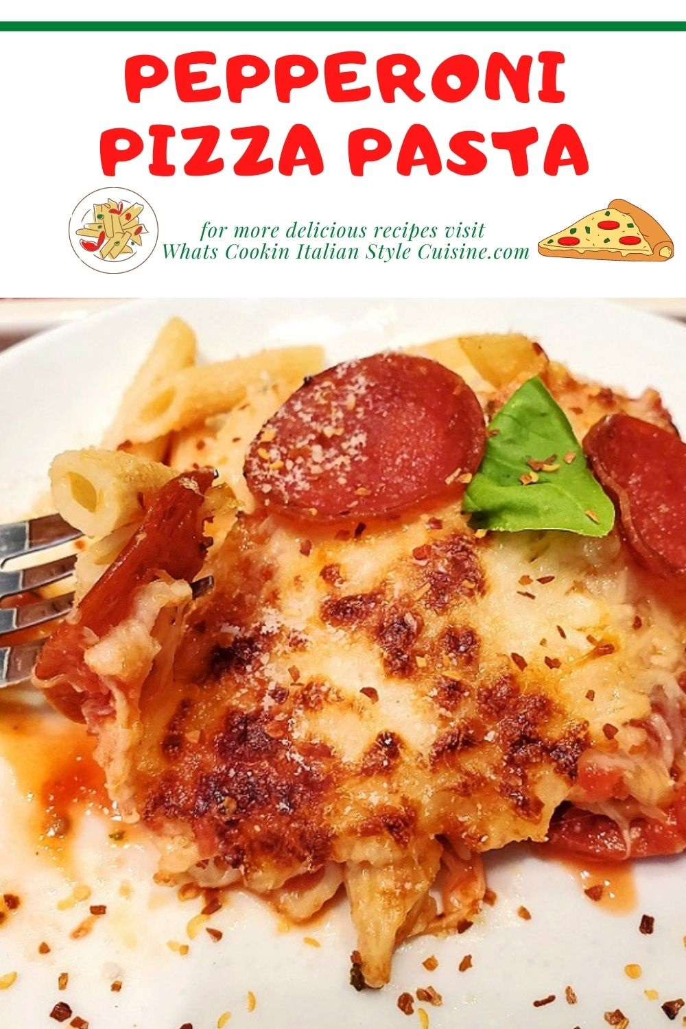 this is a pin for later on how to make pepperoni sauce baked penne pasta