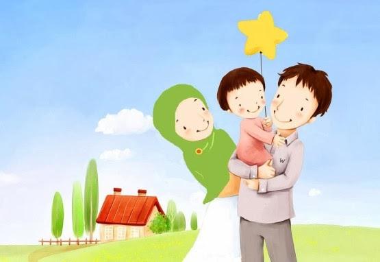 71 Gambar Kartun Kegiatan Bersama Keluarga Terbaru