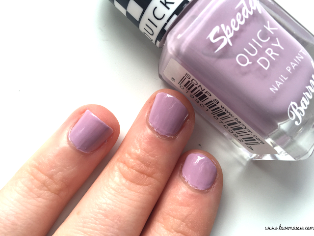 Barry M nail polish review | Love, Maisie | Lap of Honour