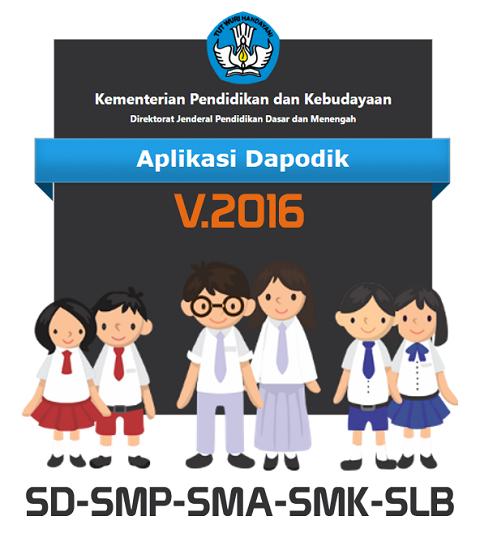 Persiapan Rilis Aplikasi Dapodik Versi 2016 SD, SMP, SMA, SMK dan SLB