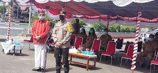12 Ambulance Siap Cegah Penyebaran Covid, Bupati: Ini gagasan Kapolres Tana Toraja