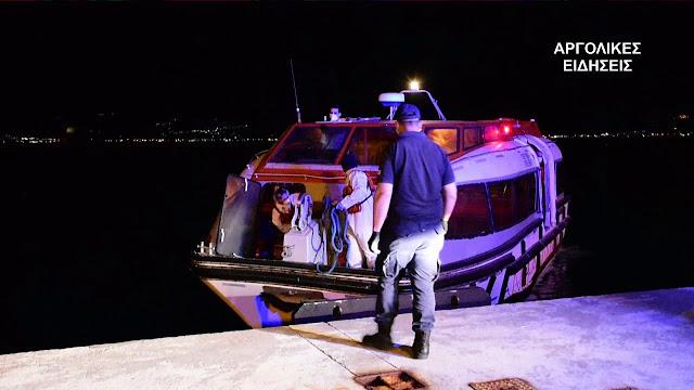 Ναύπλιο: Επιχείρηση μεταφοράς ασθενούς από κρουαζιερόπλοιο στο νοσοκομείο