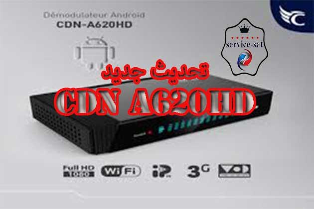اخر تحديث لجهاز كوندور CDN A620HD