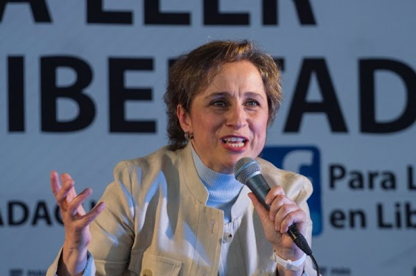 Ilegal la cancelación del programa de Carmen Aristegui, sentencia juez.