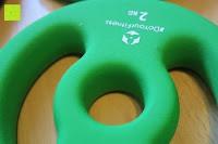 Logo: Langhantel GEPOLSTERT inkl. Federverschluss / Gewichtsvarianten 2kg 4kg 6kg 8kg 10kg 12kg 14kg 18kg 20kg in unterschiedlichen Farben