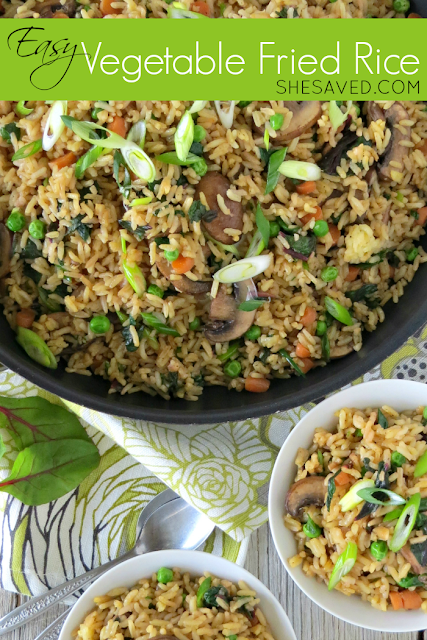 Easy Vegetable Fried Rice Healthy Recipe