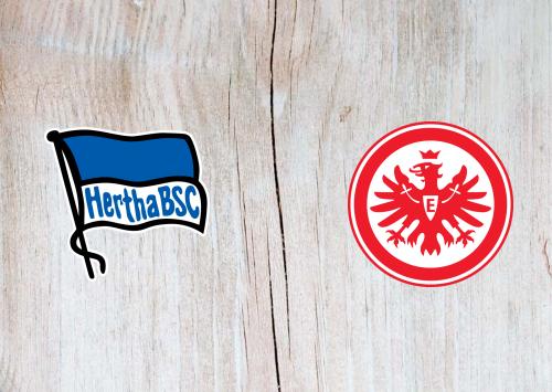 Hertha BSC vs Eintracht Frankfurt -Highlights 13 June 2020