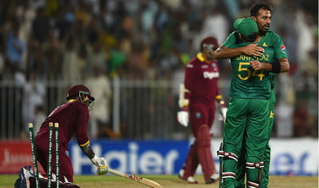 Pak vs WI 2nd ODI Full Scorecard 2016
