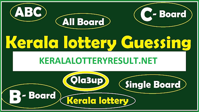 Abc numbers for today - kerala guessing numbers LAST 3 , KERALA LOTTERY RESULT LAST 3 NUMBER