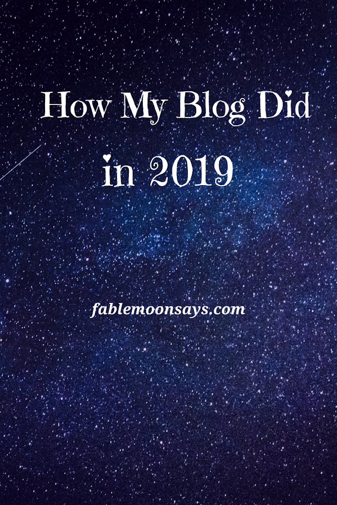 How My Blog Did in 2019