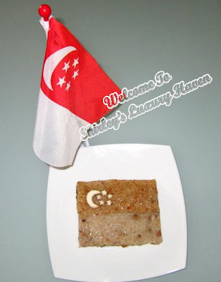 singapore flag, national day, glutinuous rice