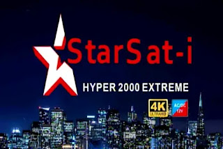 Starsat-i Hyper 2000 Extreme New Software USB Update 2020
