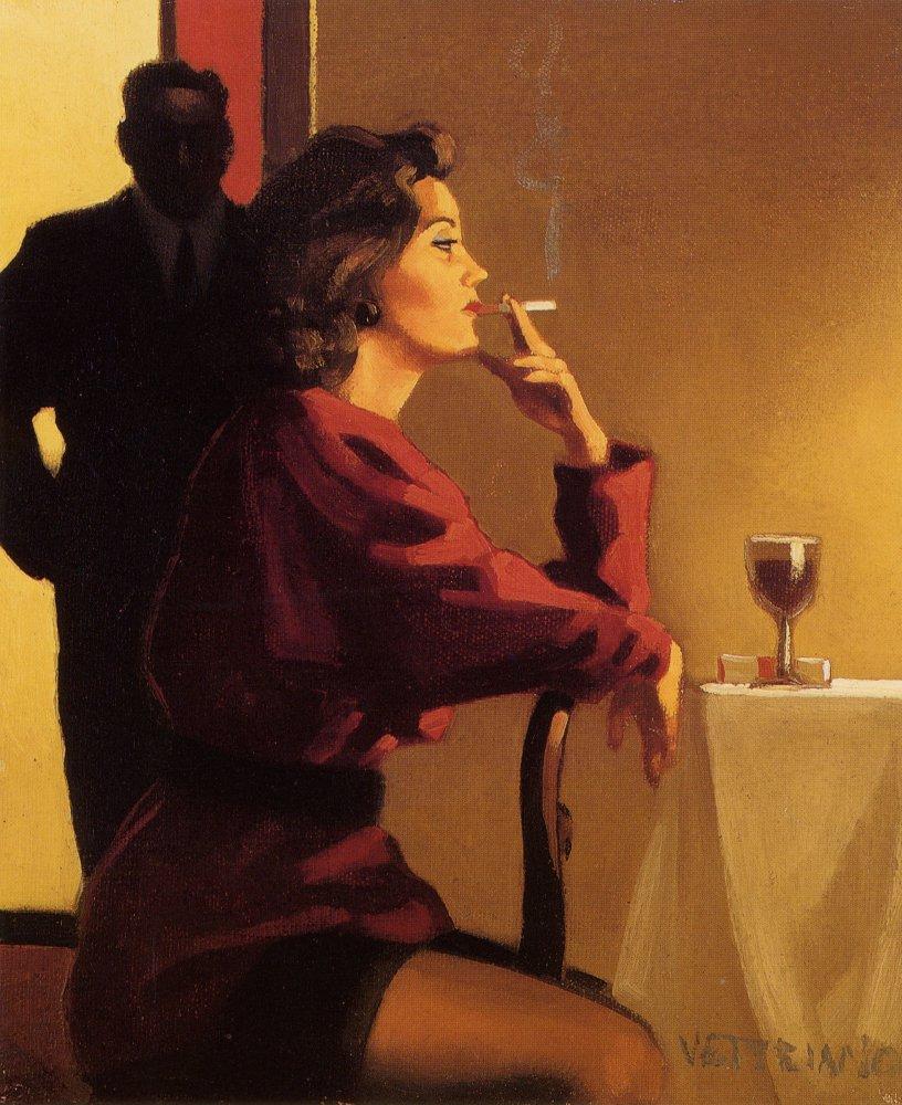 Pinturas de Jack Vettriano ~ Sensuais