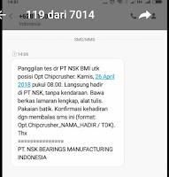 PT NSK Bearings Manufacturing Indonesia