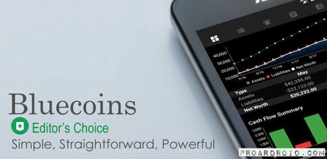 تحميل تطبيق ادارة الاموال الرائع Bluecoins- Finance And Budget Full