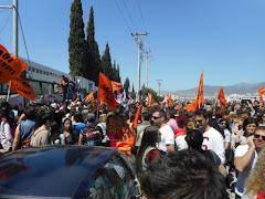 Η ΕΛΜΕ με ομόφωνη απόφαση του ΔΣ της είχε δηλώσει τη συμπαράσταση της στην Α. Μιχαλάκου και κατήγγειλε την απαράδεκτη πρακτική των μηνύσεων σε όσους πήραν στάση αλληλεγγύης. Μετά από νέα μήνυση του Μπάμζα είδαμε μια πρωτοφανή κινητοποίηση αστυνομίας και δικαστικών μηχανισμών σε Αθήνα και Θεσσαλονίκη για να συλληφθούν και να βρεθούν στο αυτόφωρο τα μέλη του ΔΣ της Α' ΕΛΜΕ Θεσσαλονίκης. Την απαράδεκτη δίωξη ενάντια στην αλληλεγγύη των εργαζομένων, τη συνδικαλιστική δράση και την ελευθερία έκφρασης είχαν καταδικάσεις η ΑΔΕΔΥ, η ΟΛΜΕ, δεκάδες ΕΛΜΕ και Σύλλογοι Εκπαιδευτικών ΠΕ, σωματεία, φορείς και κόμματα.