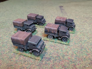 Plastic Soldier Company 15mm CMP Trucks
