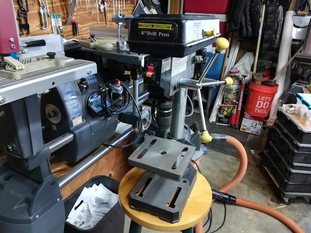 Harbor Freight Central Machinery Drill Press Bench Top Drill Press