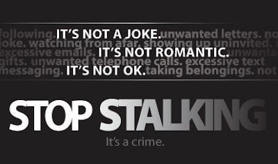 Stop stalking.