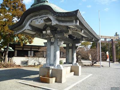 豊國神社の手水舎