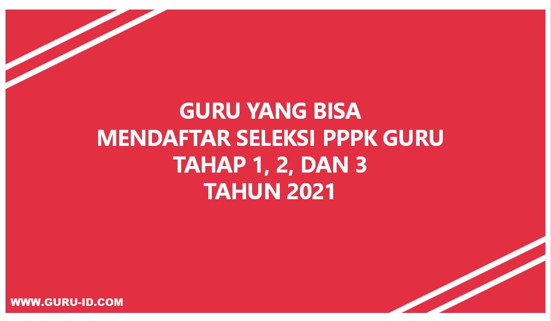 gambar Guru Hononer Yang Bisa Mendaftar PPPK Tahun 2021