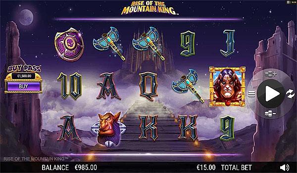 Main Gratis Slot Indonesia - Rise of the Mountain King Nextgen Gaming