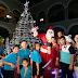 Llega la alegría navideña a Palacio de Gobierno