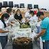 Entidades e Famílias recebem alimentos em Ji-Paraná