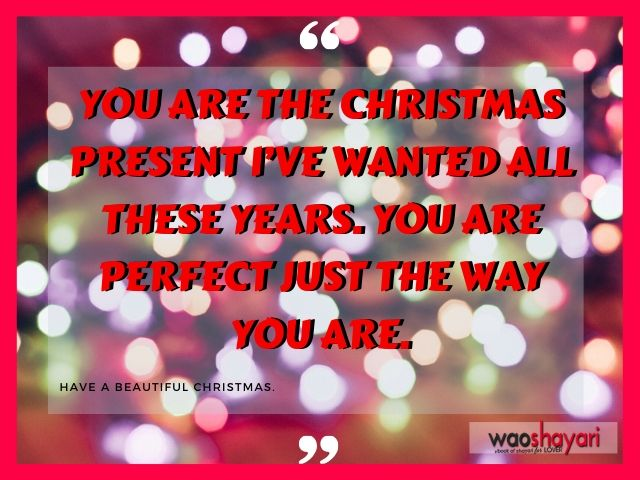 Christmas with love quotes