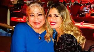 الفنانة منة فضالي تهنئ والدتها وتعايدها مع تزامن فيروس كورونا المستجد