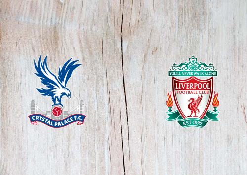 Crystal Palace vs Liverpool -Highlights 19 December 2020