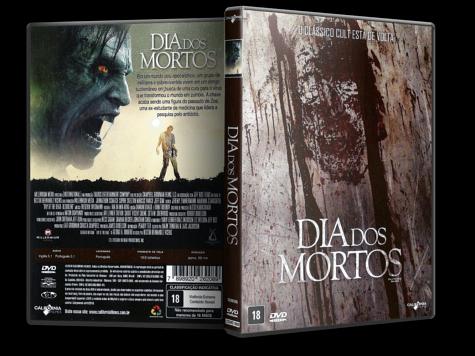 Capa DVD Dia dos Mortos