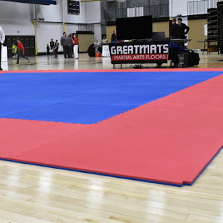 Winter 2018 Badger State Games Greatmats Martial Arts Mats