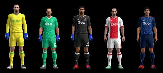Ajax Kit 2017-2018 PES 2013