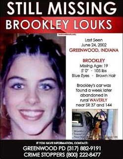 Brookley Loyks went missing from Greenwood, Indiana in 2002   Momma Loves True Crime