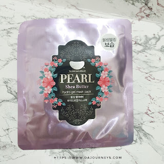Review Koelf Petitfee Pearl Shea Butter HydroGel Face Mask