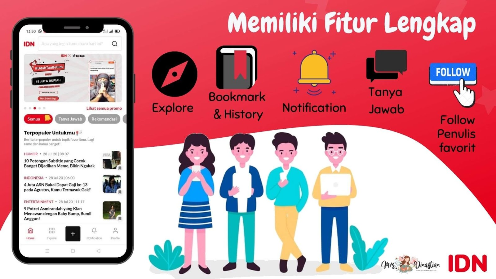 Fitur IDN App