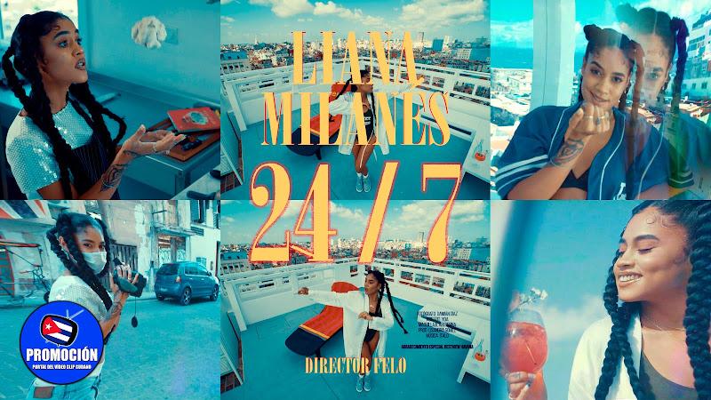 Liana Milanés - ¨24/7¨ - Videoclip - Director: FELO. Portal Del Vídeo Clip Cubano. Música cubana urbana. Reguetón. Cuba.