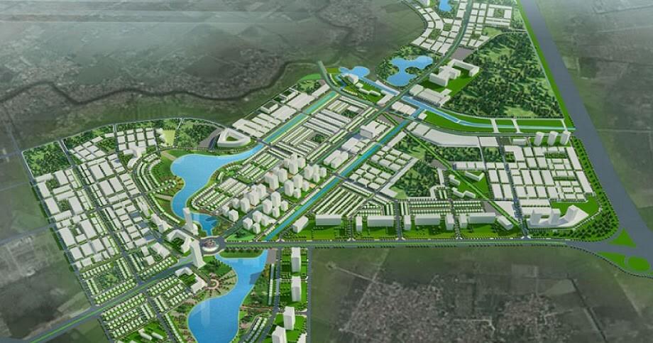 Phối cảnh khu đô thị Thanh Hà