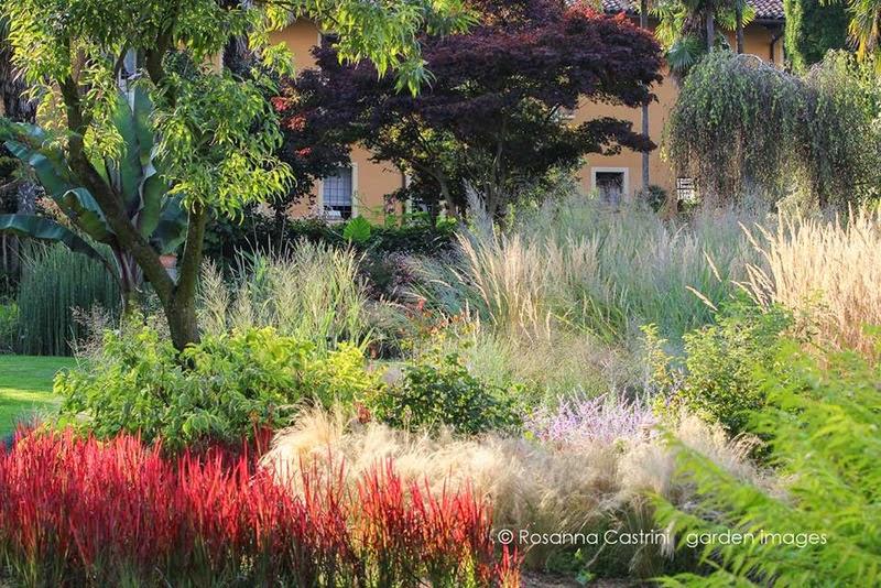 Jardin de Domenico Montevecchi. Villa Bricherasio