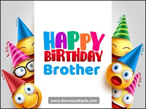 Happy Birthday Little Brother - Images, Meme, Quotes & Wishes