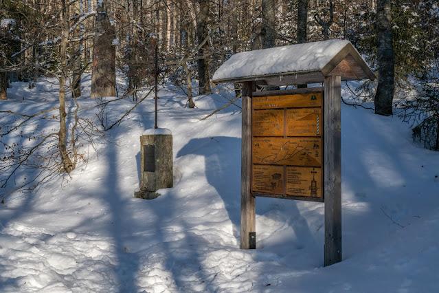 Wanderung auf den Lusen  Winterwandern im Nationalpark Bayerischer Wald 03