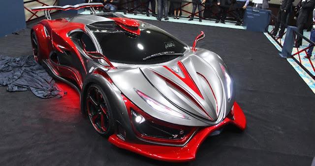 ウルトラマンみたいなデザインのスーパーカー「インフェルノ」が生産開始へ!