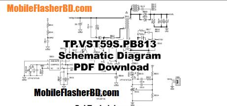 Download TP.VST59S.PB813 Schematic Diagram PDF Free For