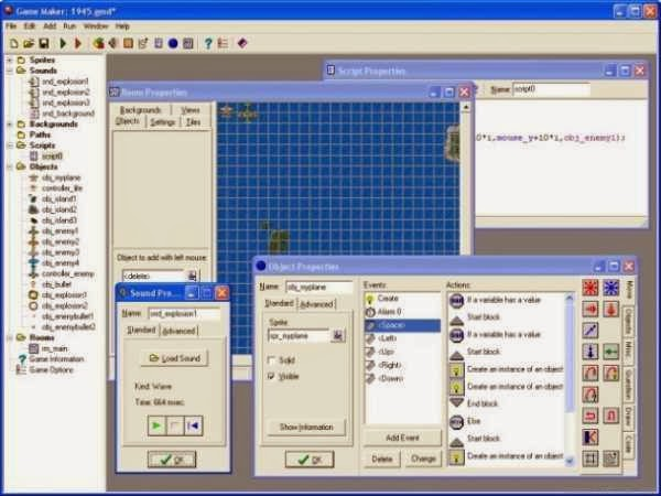 Game Maker (free version) download for PC