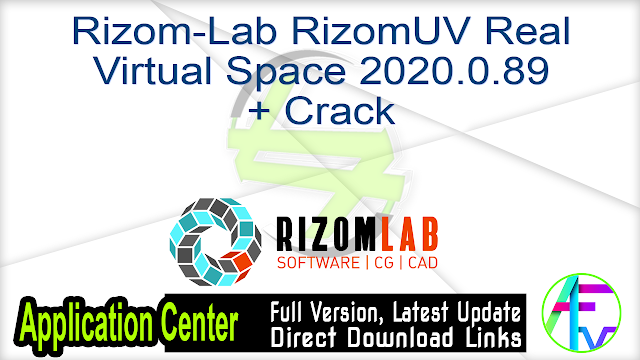 Rizom-Lab RizomUV Real Virtual Space 2020.0.89 + Crack