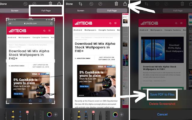 Cara Screenshot Panjang di iPhone Anda 2