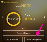 How to Unsubscribe From Any Plan On MTN