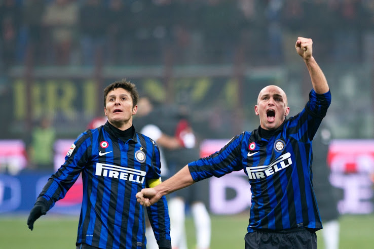 new style d035b c231c Here Are Our Top 5 Nike Inter Milan Home Kits - Footy Headlines