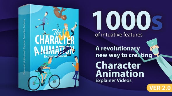 Character Animation Explainer Toolkit V2